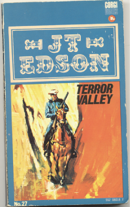 "J.T. Edson : ,,Terror Valley""."